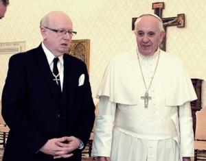 Geoff Tunnicliffe cu Francis