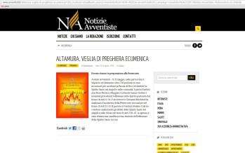 ALTAMURA – Veghe în rugaciune ecumenică