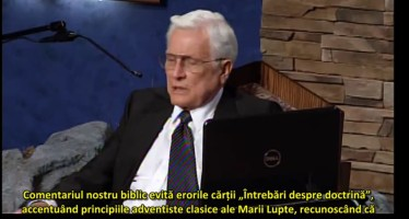 "Semnificația cărții ""Questions on Doctrine"" – Herbert E. Douglass"