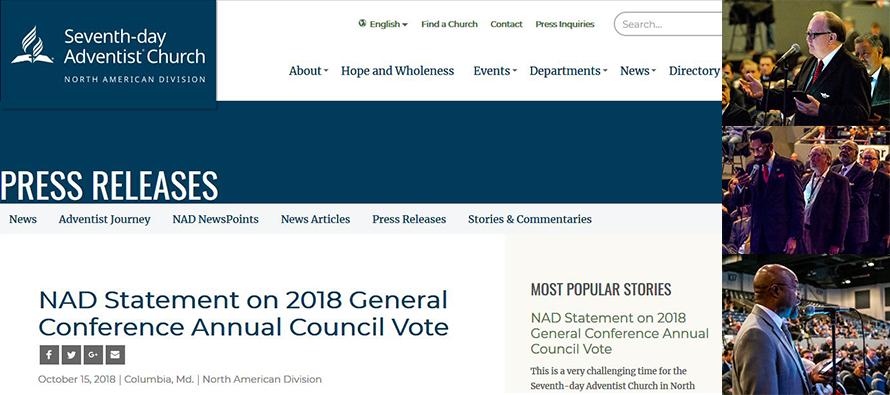 Comunicat NAD cu privire la votul de la CA